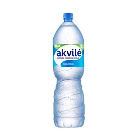 Negazuotas natūralus mineralinis vanduo AKVILĖ, 2 l