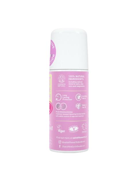 Natūralus rutulinis dezodorantas SALT OF THE EARTH su bijūnų žiedais, 75 ml 2