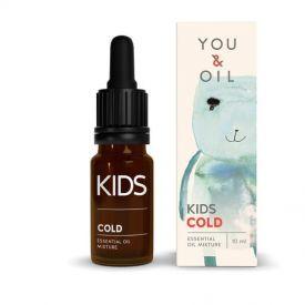 Eterinių aliejų mišinys aromaterapijai vaikams YOU&OIL Peršalimas, 10 ml