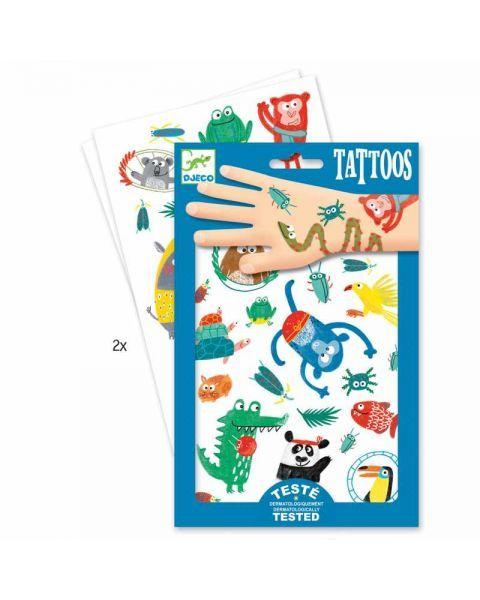 Tatuiruočių rinkinys DJECO vaikams nuo 3 metų (DJ09576)