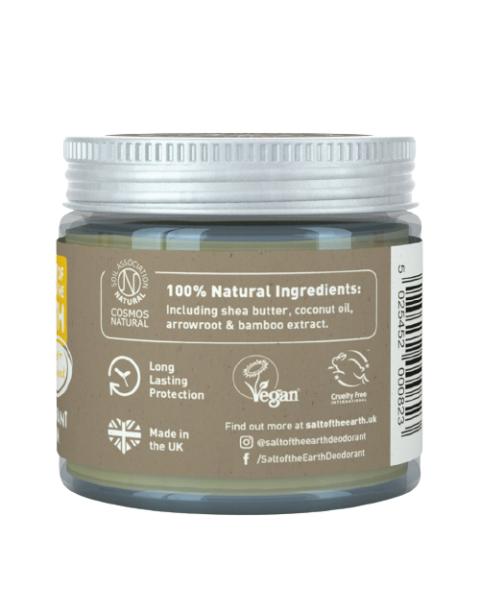 Natūralus tepamas dezodorantas SALT OF THE EARTH su gintaru ir santalu, 60g 3