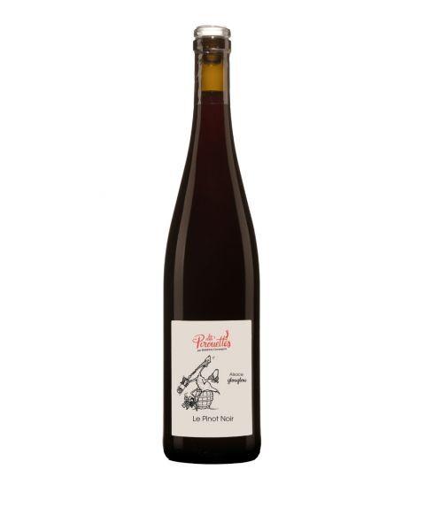 Biodinaminis raudonas vynas LES VINS PIROUETTES Pinot noir 2018 12,5%, 750 ml, sausas