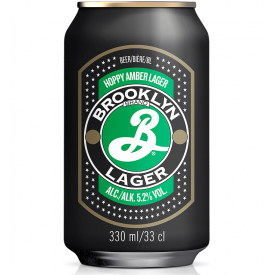 Alus Brooklyn Lager 5,2%, 330ml