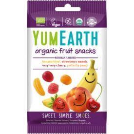 Ekologiški vaisių skonio želė saldainiai YUMEARTH be gliuteno, 50 g
