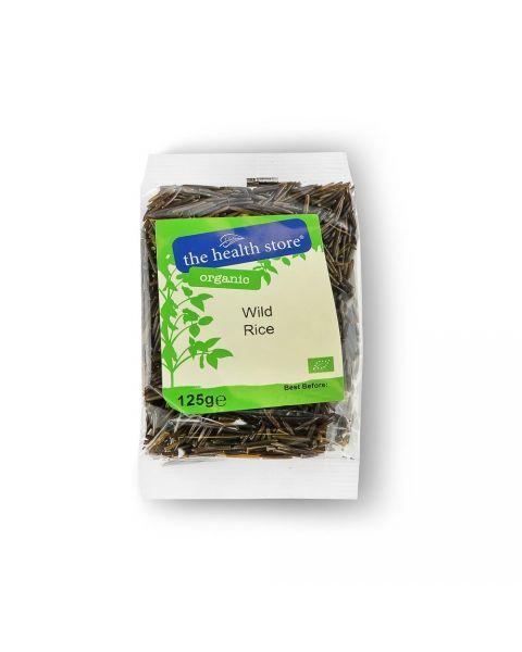 Ekologiški laukiniai ryžiai THS ORGANIC, 125 g