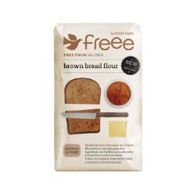 Rudos duonos miltai DOVES FARM be gliuteno, 1 kg