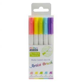 Spalvoti flomasteriai Artist Brush 1100-5E Natural, JAPOKO, 5vnt.