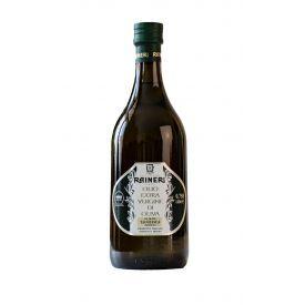 """Itališkas, ypač tyras alyvuogių aliejus RAINERI, pagamintas iš """"Taggiasca"""" alyvuogių, Imperijos provincijoje, 750 ml"""