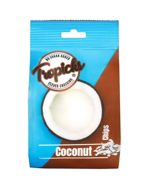Džiovinti kokosai su nektaru TROPICKS, 118g
