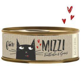 Konservai katėms BUBECK Mizzi su kalakutiena ir žąsiena, 100 g