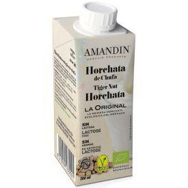 Ekologiškas tigrinių riešutų gėrimas AMANDIN Horchata, 200 ml