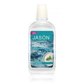 Stiprinamasis burnos skalavimo skystis JASON su jūros druska, 474 ml