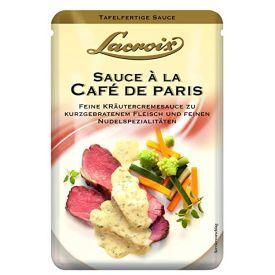 """Grietinėlės padažas su žolelėmis LACROIX """"Café de Paris"""" keptai mėsai ir makaronų patiekalams, 150 ml"""