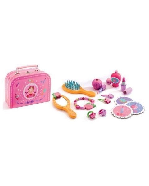 Prabangus grožio lagaminėlis su priedais DJECO vaikams nuo 4 metų (DJ06552)