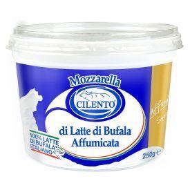 Rūkytas buivolių pieno sūris Mozzarella Affumicato, CILENTO, 52% rieb. s. m., 500g
