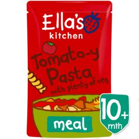 Ekologiška pomidorų skonio tyrelė ELLA'S KITCHEN su daržovėmis vaikams nuo 10 mėn., 190 g