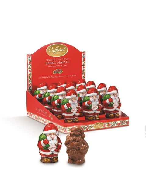 "Šokoladinė figūrėlė CAFFAREL ""Santa Hollow"", 100 g"