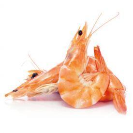 Virtos blyškiosios baltakojės krevetės,1kg