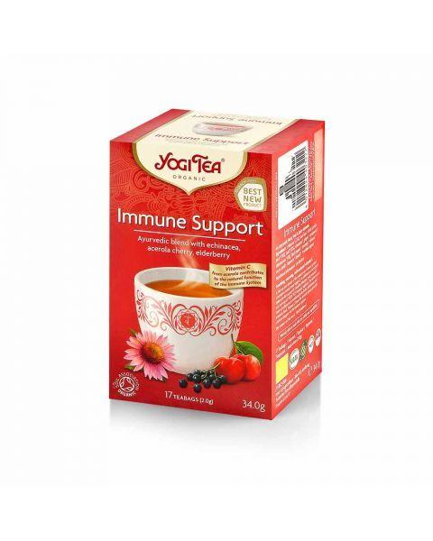 Ekologiška arbata YOGI TEA IMMUNE SUPPORT 34g