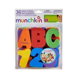 Vonios žaislas MUNCHKIN Raidelės ir skaičiai mažyliams nuo 3 metų, (11108)