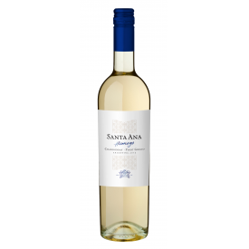 Baltas vynas SANTA ANA Homage Chardonnay 13% 750ml