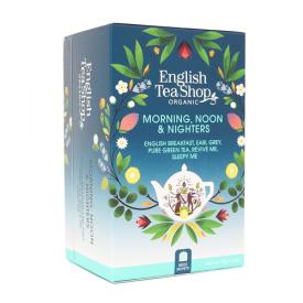 Ekologiška arbata ENGLISH TEA SHOP Morning,Noon&Nighters, 20 maišelių
