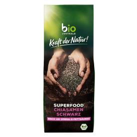 Ekologiškos juodosios ispaninio šalavijo (chia) sėklos BIOZENTRALE, 300g