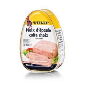 Konservuotas, virtas, kiaulienos kumpis TULIP, 340 g
