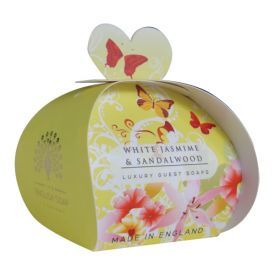 Muilas dovanoms ENGLISH SOAP White Jasmin & Sandalwood, 3x20g