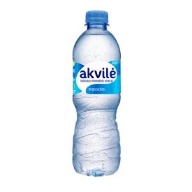 Negazuotas natūralus mineralinis vanduo AKVILĖ, 500 ml