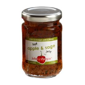 Aštri obuolių ir šalavijų želė Jules&Sharpie, 112 g