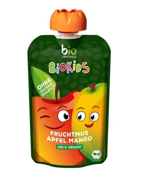 Ekologiška obuolių ir mangų tyrelė BIOKIDS, 90 g 2