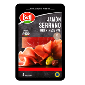 "Vytintas kumpis ""Serrano Bell"", 80g"