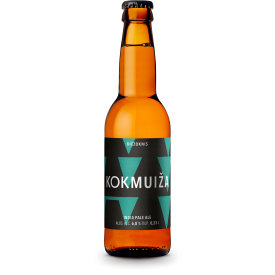 Alus KOKMUIŽA India Pale Ale BIEZOKNIS 6,0% alk., 330ml