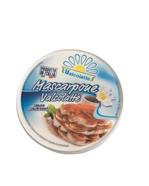 Maskarponės sūris VALCOLATTE, 80% rieb. s. m., 250g