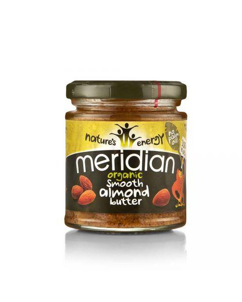 Ekologiškas MIGDOLŲ riešutų sviestas, Meridian, 170g