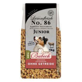 Sausas šunų maistas BUBECK Nr.86 (junior) su ėriena ir bulvėmis, 1 kg