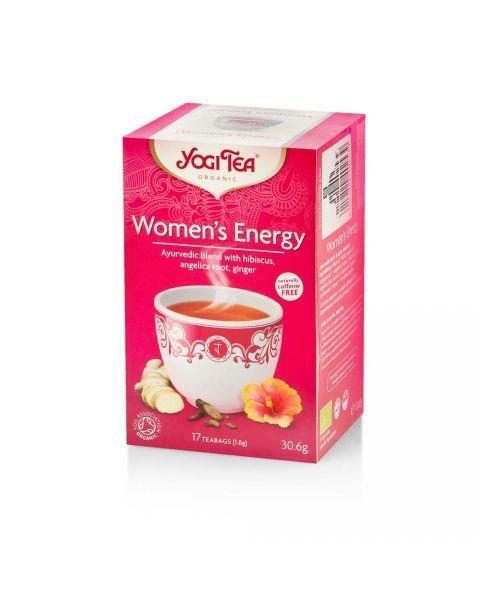 """Ekologiška arbata moterims YOGI TEA """"Women's Energy"""", 30,6 g"""