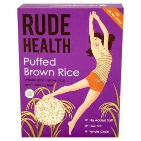 Pūsti rudieji ryžiai RUDE HEALTH, 225g