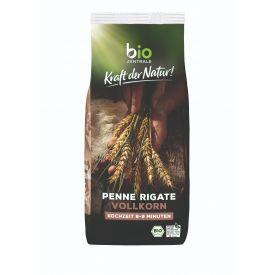 Ekologiški pilno grūdo makaronai BIOZENTRALE Penne, 500 g