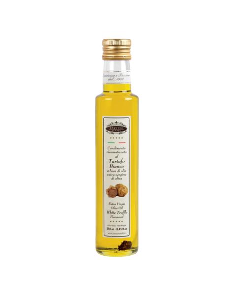 Baltųjų trumų skonio alyvuogių aliejus TARTUFI JIMMY, 250 ml