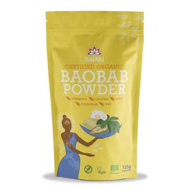 Ekologiški baobabo vaisiaus milteliai ISWARI, 70g