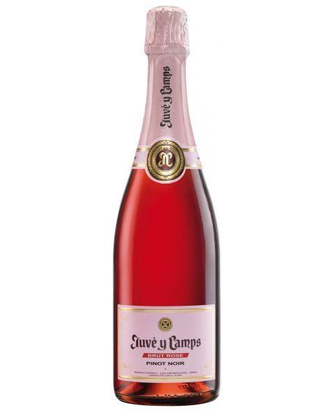 Putojantis vynas Juve y Camps Brut Rose 12%, 750 ml