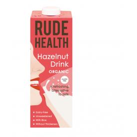 Ekologiškas lazdynų riešutų gėrimas RUDE HEALTH, 1L