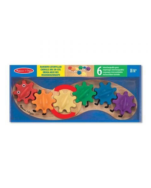 "Žaislas su dantračiais MELISSA & DOUG ""Caterpillar"", 1 vnt."