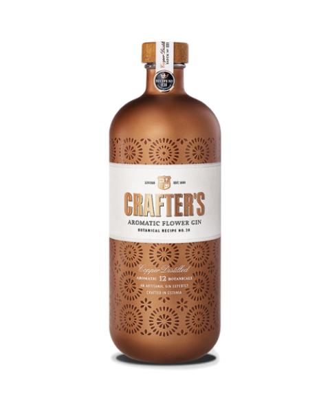 Džinas CRAFTER'S Aromatic Flower 44,3%, 700 ml