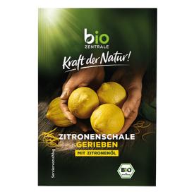 Ekologiškos tarkuotos citrinų žievelės BIOZENTRALE, 5 g