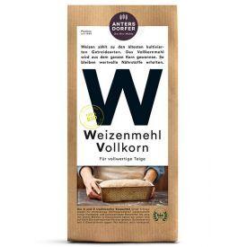 Ekologiški, pilno grūdo kviečių miltai ANTERSDORFER, 1 kg