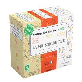 Ekologiškos arbatos rinkinys Nr. 1 LA MAISON DU THE, 15 maišelių