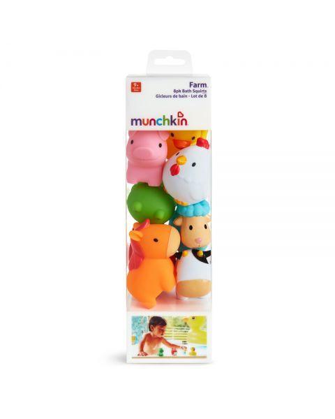 Purškiami žaislai voniai-naminiai gyvūnėliai MUNCHKIN nuo 9 mėn., 1 vnt.